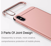 3 in 1 Hard Plating Ultra Slim Case For Apple iPhone X - DealsBlast.com