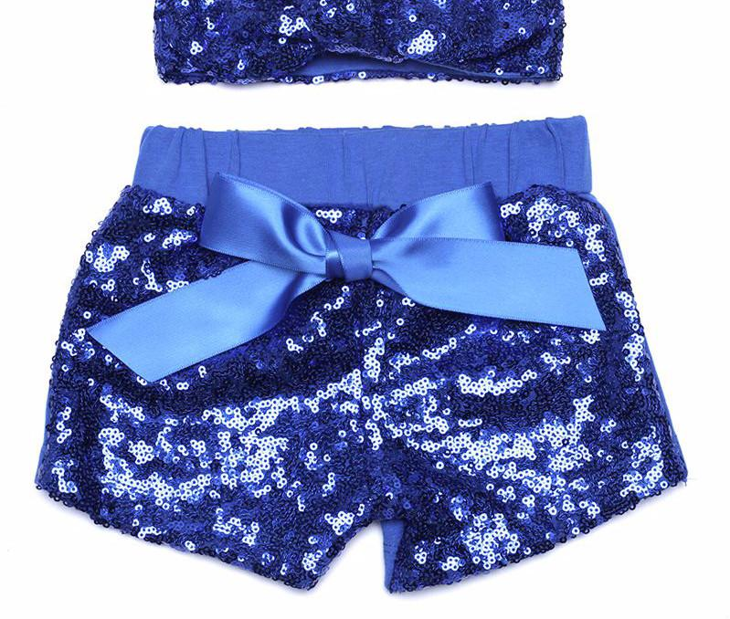 c6961210 ... Baby Girls Sparkle Sequin Shorts and matching glitter Adjustable  Headband.Girls birthday outfit Baby Girl ...