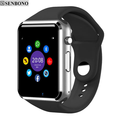 Sport Pedometer With SIM Camera Smartwatch For  Android Smartphone