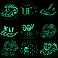 Graffiti Baseball Cap Hip Hop Fluorescent Light Snapback Caps Men Casquette Women Girl Noctilucence Hats Boy Luminous Hat - DealsBlast.com