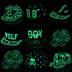 Fluorescent Light Snapback Caps - DealsBlast.com