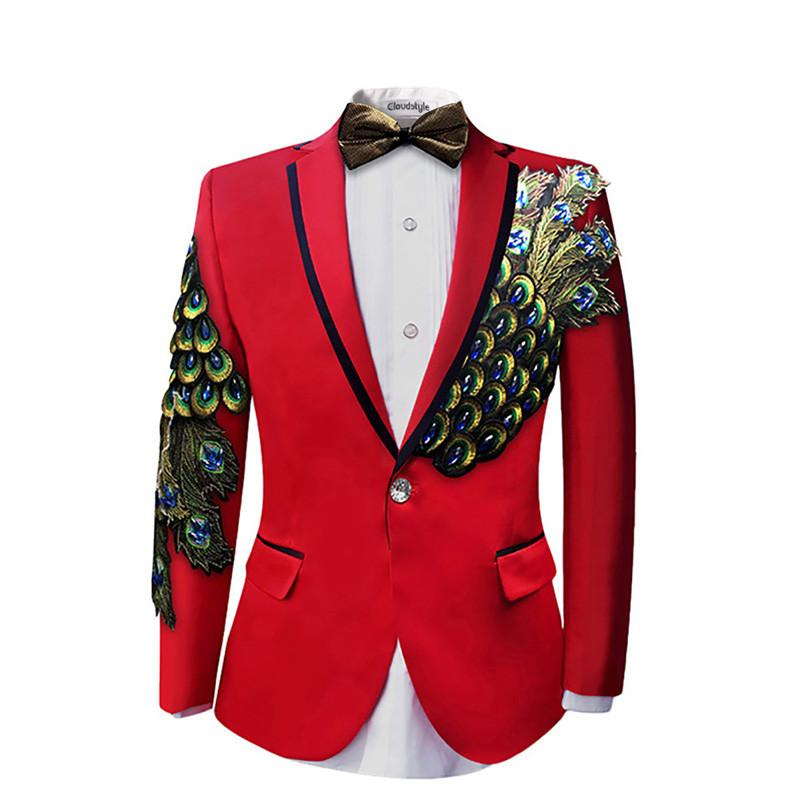 Men In Wedding Gowns: Wedding Dress Two Piece For Men Ball Party Men Suits Blazers