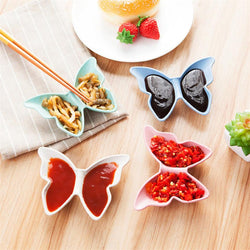 Butterfly Shaped Plate Sauces - Deals Blast