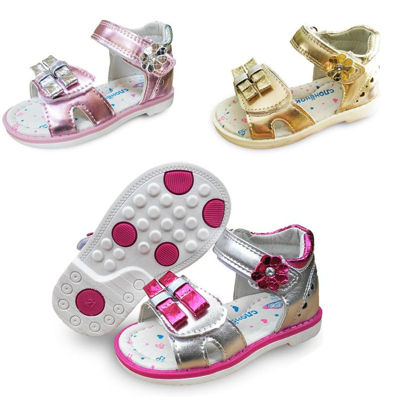 New 1pair Summer Baby arch support Orthopedic Sandals  Girl Shoes,Super Quality Kids/Children Soft Shoes - Deals Blast