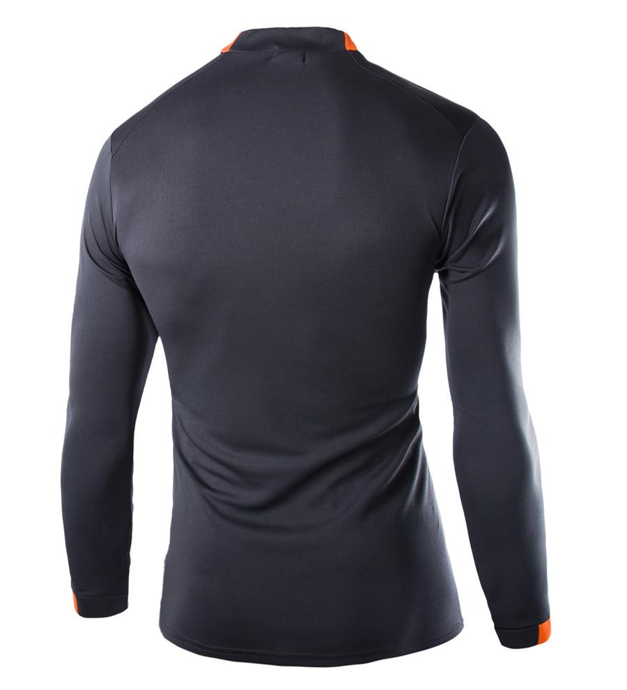 Men T shirts MMA Long Sleeve T-shirt Men's Compression Shirts Fitness Bodybuilding Black White Clothes