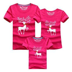 Christmas Family Matching Outfits T-shirt Mother Father Baby - DealsBlast.com