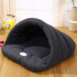 Winter Warm Slippers Style Dog Bed Pet Dog House Lovely Soft Suitable Cat Dog Bed House for Pets - DealsBlast.com