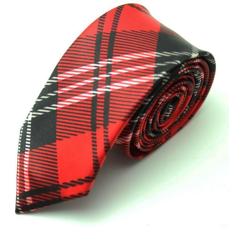 7 Colors Striped Narrow Business Neckties - DealsBlast.com