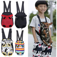 Pet Carrier Front Chest Backpack Five Holes Cute Dog Cat Outdoor Carrier Sling Holder - DealsBlast.com
