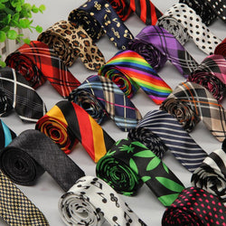 Men Plaid Printed Wedding Business Ties - DealsBlast.com