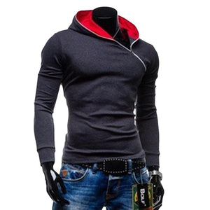 Spring Fleece Cardigan Hoodie Jacket,Fashion Brand Hoodies Men,Casual Slim Sweatshirt Men,Sportswear Zipper Hoodie - DealsBlast.com