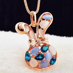 Fashion Exquisite necklace pendants For Christmas gift Cute Small Animal Shape Women Gold Plated Necklace - Deals Blast