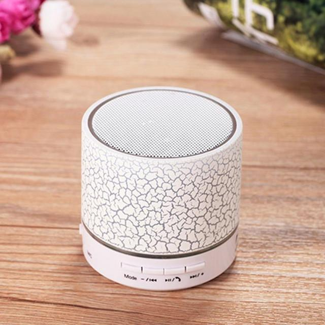 New LED MINI Bluetooth Speaker A9 TF USB FM Wireless Portable Music Sound Box Subwoofer Loudspeakers For phone PC - DealsBlast.com