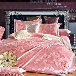 Luxury duvet cover set bedding cotton sets super king queen bed clothing bed linen - DealsBlast.com