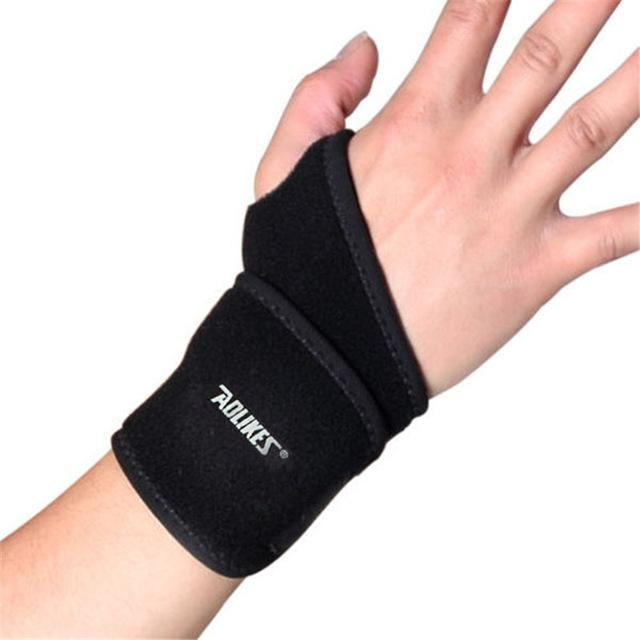 1Pc Adjustable Wristband Steel Wrist Brace Wrist Support Splint Fractures Carpal Tunnel Sport Sprain Wristbands - DealsBlast.com