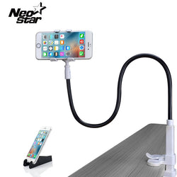 Universal Adjustable Phone Stand Holder For iPhone 5s 6 7 Samsung LG HTC SONY Lock Bucket Bed Desk Mount With Gift - DealsBlast.com