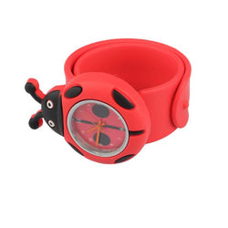Hot Sell Red Flap ring Digital Slap Watch Cute Slap Watches for Kids Birthday Gift - DealsBlast.com