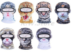 New Animal 3d Mask Balaclava Outdoor Wind Dust Cap Bicycle Cycling Motorcycle Hat Full Face Masks - DealsBlast.com