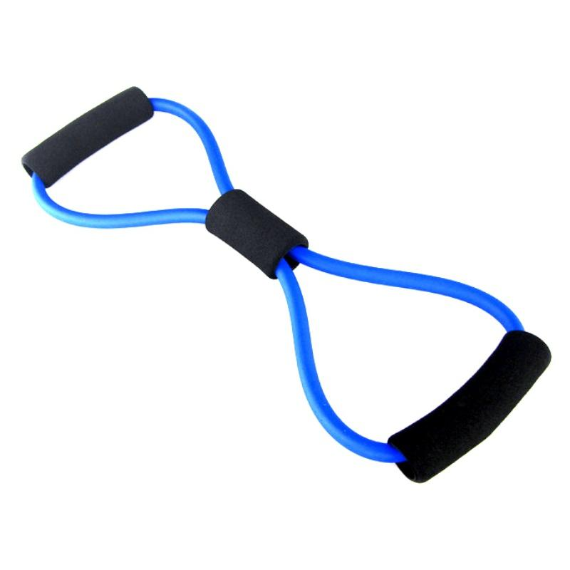 8 Shaped Elastic Tension Durable Rope Chest Expander Sport Yoga Fitness Pilates Belt Body Shape Health Care - DealsBlast.com