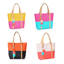 New Edition Women's Lovely Candy Handbag Lady's PU Leather Shoulder Bag 4 Colors