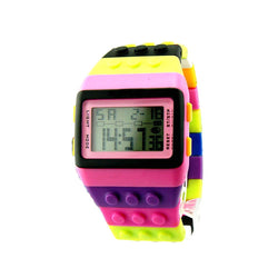 Electronic Colorful LED Rainbow Digital Watches Boys Girls - DealsBlast.com