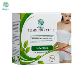 Health Care Slimming Navel Stick 7x9 CM Slim Patch Weight Loss Burning Fat Patch 30 Pieces/Box