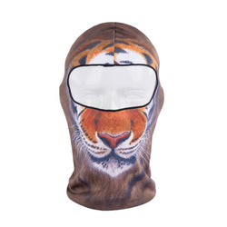 Hot Sale 3d Tiger Animal Active Outdoor Sports Bicycle Cycling Motorcycle Masks Ski Hood Hat Balaclava Full Face Mask - DealsBlast.com