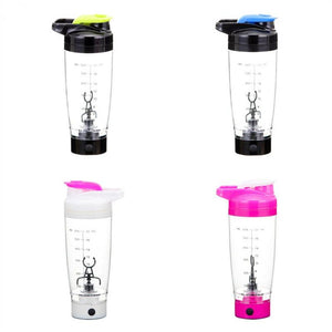 Electric Automation Protein Shaker Blender My Water Bottle Automatic Movement Coffee Milk Smart Mixer Drink ware - DealsBlast.com