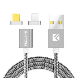 Universal Magnetic USB Charging Cable For iPhone 5 6 7 and Samsung Galaxy 5 6 7 8 LG SONY HTC Android Phones