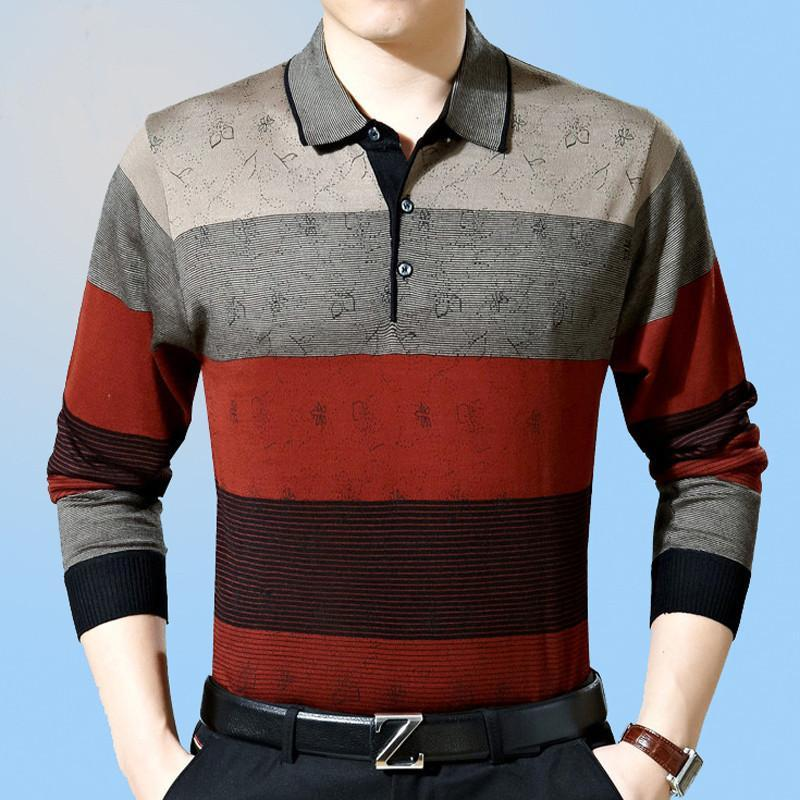 Casual Long Sleeve Business T-shirts - DealsBlast.com