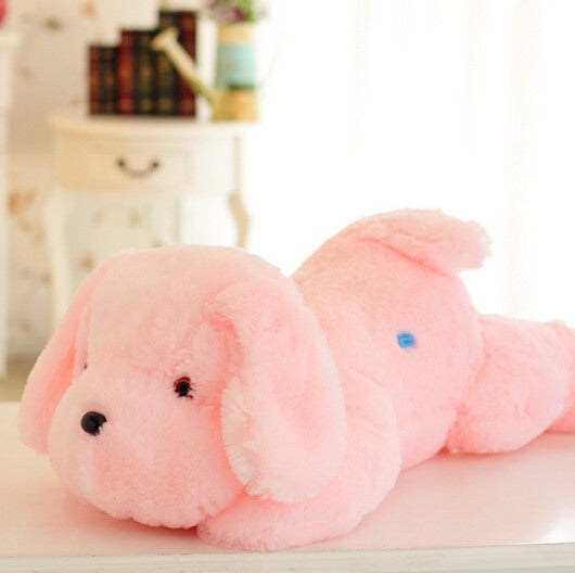 50CM Length Creative Night Light LED Lovely Dog Stuffed and Plush Toys Best Gifts for Kids and Friends - DealsBlast.com