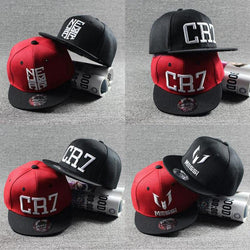 New Fashion Children Ronaldo CR7 Neymar NJR Baseball Cap Hat Boys Girls Kids MESSI Snapback Hats Hip Hop Caps Gorras