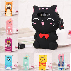 3D Cartoon Soft Silicone Cover Case For Samsung - DealsBlast.com