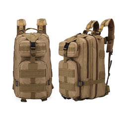 Multi-functional 3P  camouflage shoulder bag 20L-35L outdoor leisure  backpack hiking backpack - DealsBlast.com
