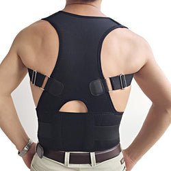 Back Support Brace Corrector Belt for Women Men Posture Correction Waist Shoulder Chest Size S/M/L/XL/XXL - DealsBlast.com