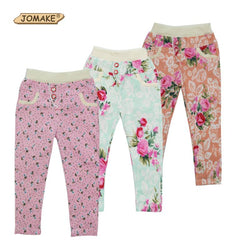 Kids Leggings For Girls Summer Style Girl Legging Floral Skinny Pencil Pants Baby Trousers Cotton Children Clothing - DealsBlast.com