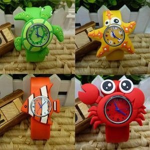 New Fashion Cute Animal Cartoon Silicone Band Bracelet Wristband Watch For Babies Kids Gift High Quality - DealsBlast.com