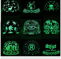Fashion Graffiti Baseball Cap Hip Hop Snapback Caps Fluorescent Light For Men Women Girl Noctilucence Caps Boy Light Hat Gorras - DealsBlast.com