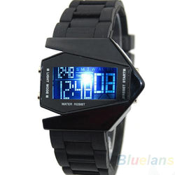 Hot Sales Novelty LED Display watches Digital men sports military Oversized watch Back Light women Wristwatches - DealsBlast.com