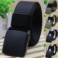 Handsome Cool Men's Fashion Practical  Tactical Military Nylon Buckle Waist Belt Waistband New Arrival - DealsBlast.com