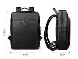 Genuine leather man backpacks hot sale school double shoulder bag cow leather male fashion travel and Laptop bag - DealsBlast.com