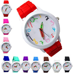 Intelligent digital Fashion Kids Children Wrist Watches Quartz Unisex Boys Girl's Beautiful Students All-Match Watch - DealsBlast.com