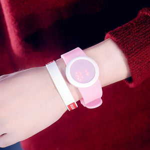 Candy Color Rubber LED kids Watches Bracelet  For Student - DealsBlast.com