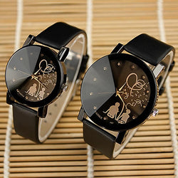 Famous Brand Lovers Cartoon Watch Women Lady Girl Men Female Clock Quartz-watch Cartoon-Watch - DealsBlast.com
