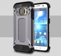 Armor case for Iphone X 7 8 6 6S 5S Samsung Galaxy S5 S6 S7 Edge S8 Plus Note 8 4 5 Case Hybrid Hard Cover Full Protector Funda - DealsBlast.com