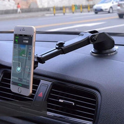 Telescopic Car Mobile Phone Holder Magnetic Support Cellular Phone for iPhone and Samsung - DealsBlast.com