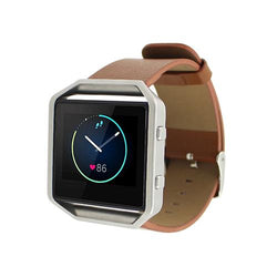 New Arrival Luxury Genuine Leather Watch Band Wrist Strap for Fitbit Blaze - DealsBlast.com