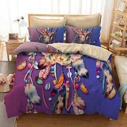 Dreamcatcher 3d bedding sets comforter Bohemia 3pcs duvet cover set bedsheet Pillowcase queen king size - DealsBlast.com