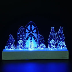 Giftgarden Christmas LED Home Decor Set Holy Family in Nativity Gifts, Christmas Gift Home Decoration Accessories - DealsBlast.com