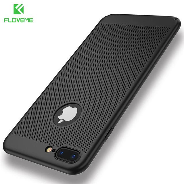 Luxury Phone Cases for iPhone 5 5s SE,Black / Red Matte Mobile Phone Bag Cases for iPhone 7 6 6s Plus X Cover+Logo Hole - DealsBlast.com